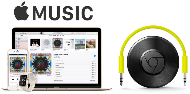 apple music auf chromecast audio spielen