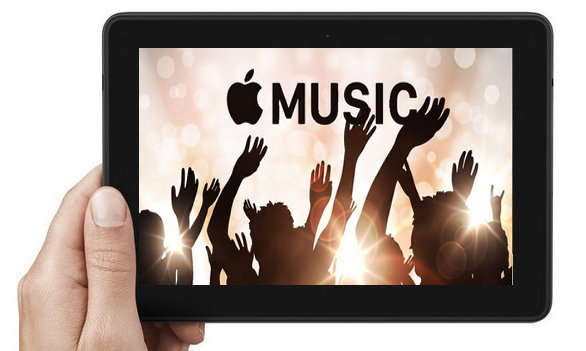 Apple Music auf kindle fire